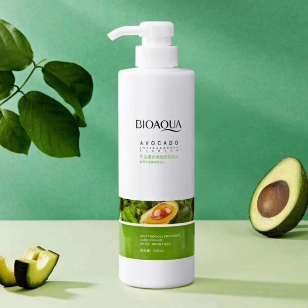 Шампунь с экстрактом авокадо BioAqua Avocado Anti Dandruff Shampoo 500мл