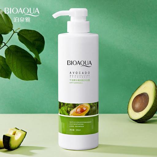 Гель для душа Bioaqua c экстрактом Авокадо